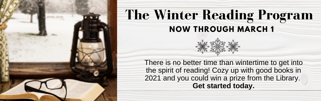 Try the Winter Reading Challenge today