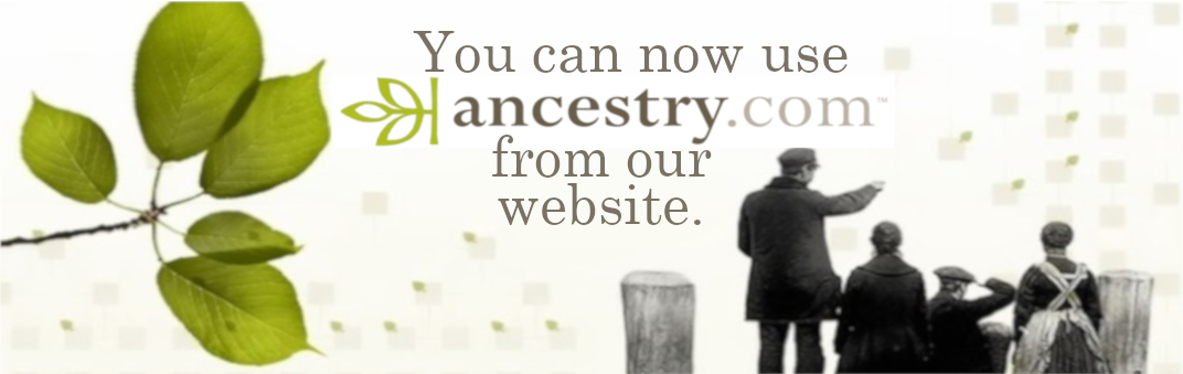 Ancestry can be used at home